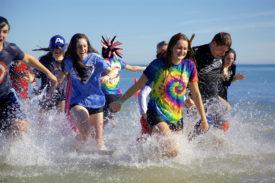 Polar Plunge - Lake Michigan @ Lake Michigan - Clark Street Beach | Evanston | Illinois | United States