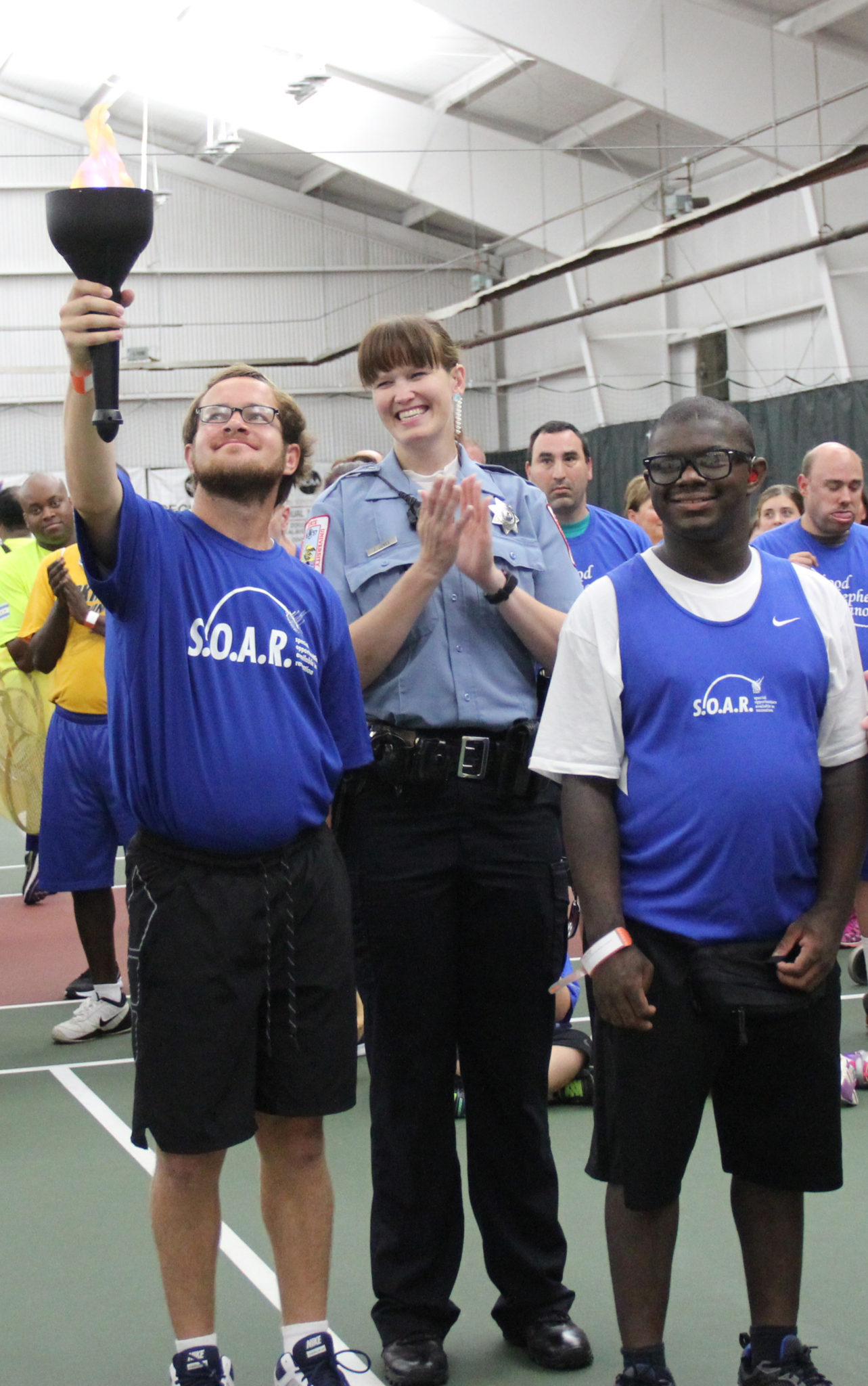 Special Olympics Illinois will hold an Opening Ceremony as part of the  Olympic tradition at 11:30 a.m. at Evergreen Racquet Club.