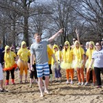 St. Louis Rams Player Plunges in Carlyle