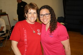 Kathleen O'Connell with Bailey Brenner