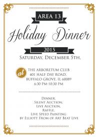 Area 13 Holiday Dinner @ Arboretum Club | Buffalo Grove | Illinois | United States