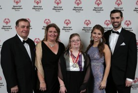 Stan, Theresa, Ela, Kristina and Brett DeRaleau are shown at the Inspire Greatness Gala