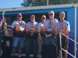 Minooka Community High School Unified Bass Fishing team
