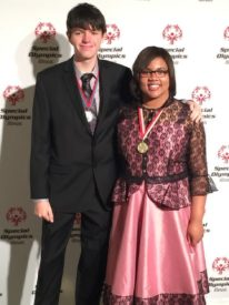 Global Messengers Ryan McDonough and Zynyra Ross at the Inspire Greatness Gala