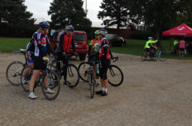 The Bike Rack provided technical support during the Pumpkin Pedal