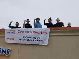 Dunkin' Cop on a Rooftop @ Various Locations | Illinois | United States