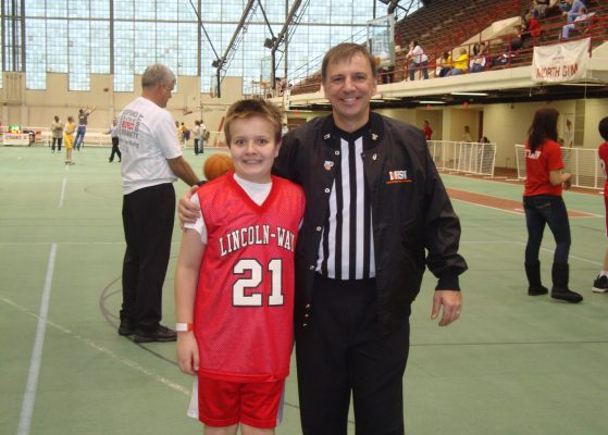 4.-March-12-2010-Illinois-State-University-Horton-Fieldhouse-vs.-Niles-Township-Dad-and-Matt-x-2