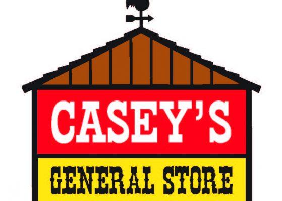 Casey's Logo White Outline